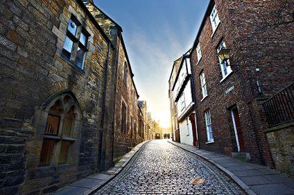 Cobbled street in Durham