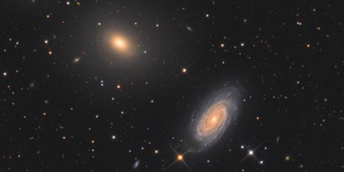 The research compared the 'gravitational lensing', or bending of light rays by gravity, by galaxies of different types. Image credit: Bart Delsaert