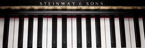 Steinway and Sons piano keyboard