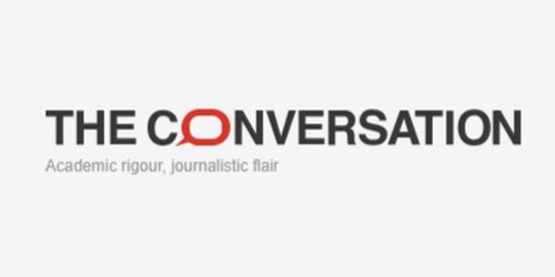 Logo for The Conversation journal