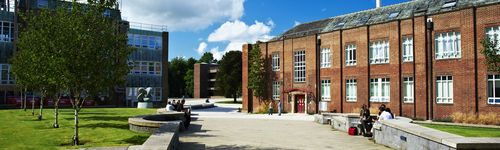 Exterior of the Dawson Building on the Durham University campus