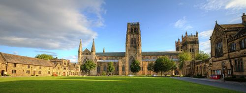 Durham Cathedral viewed from the Palace Green