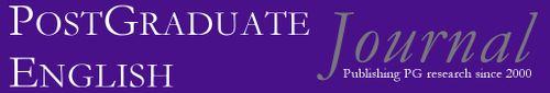 Postgraduate English: Publishing postgraduate research since 2000