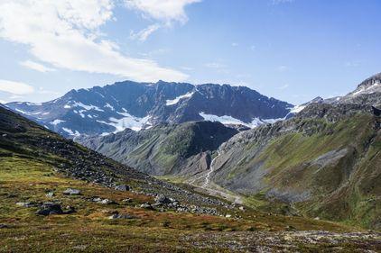 A glacier in Norway