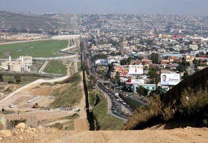 US Mexico boundary