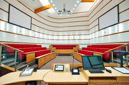 Court lecture room