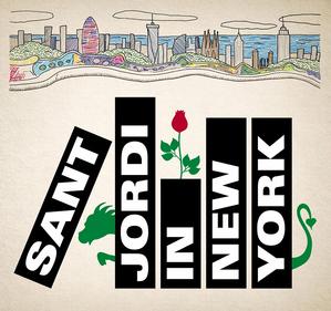 Sant Jordi in NYC Logo