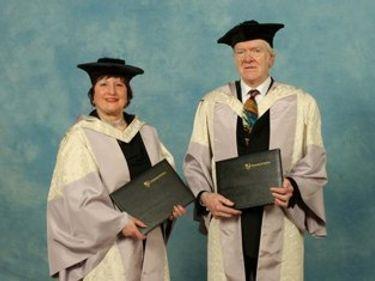 Anthony Payne and Jane Manning, husband and wife musicians celebrated at Durham University