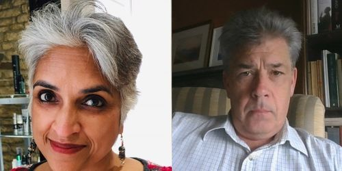 picture of Professors Nayanika Mookerjee and Patrick Zuk