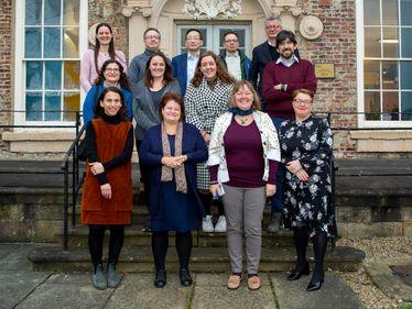 IAS Fellows group images Jan 2020