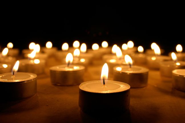A picture of burins candles