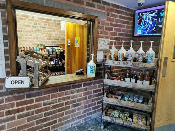 Stephenson shop produce