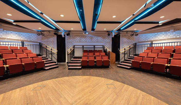 The Dowrick Suite in Trevelyan College is a 60 seat performance room