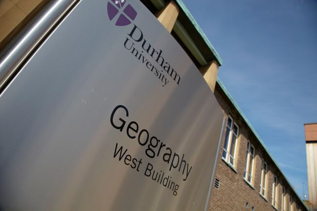 Geography Building Sign