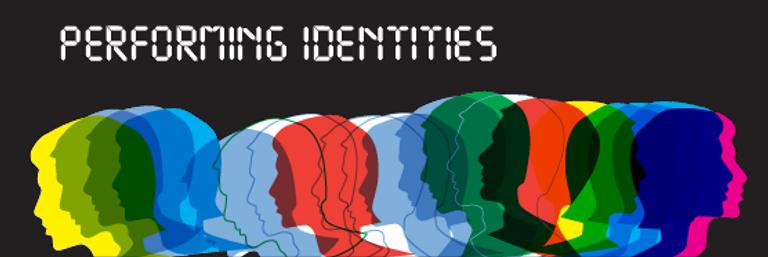 multi-coloured profiles of human heads