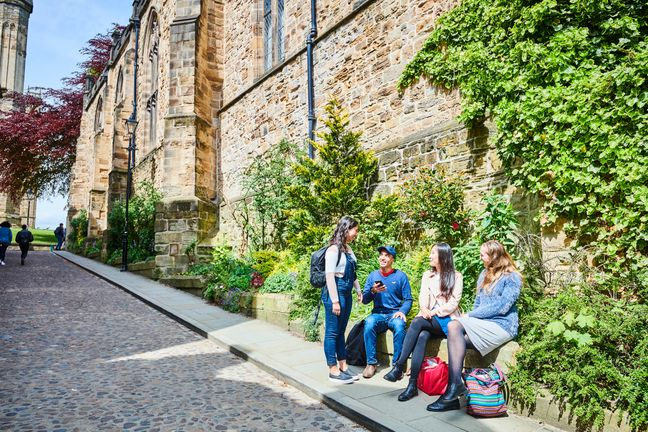 Students on Bow Lane
