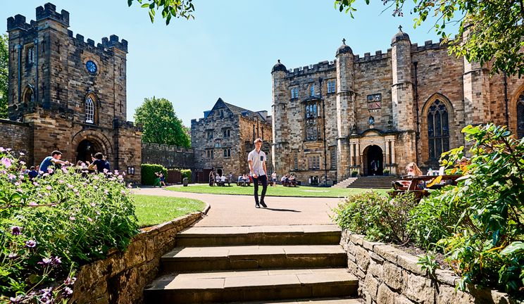 Durham Castle Courtyard