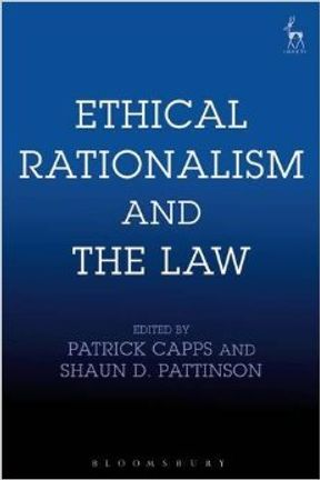 Book cover titled 'Ethical Rationalism and the Law'