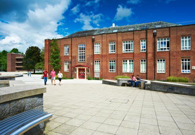 Exterior of Dawson building, Durham University