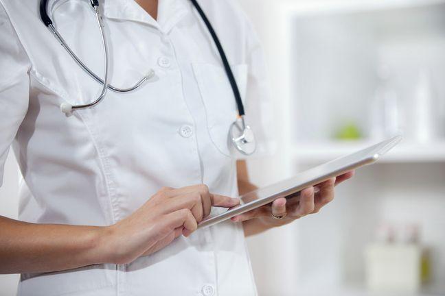 White coat and stethoscope