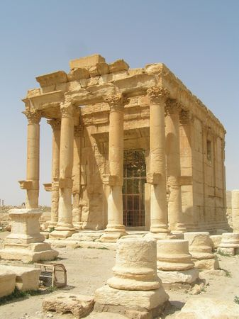 Photograph of an ancient temple