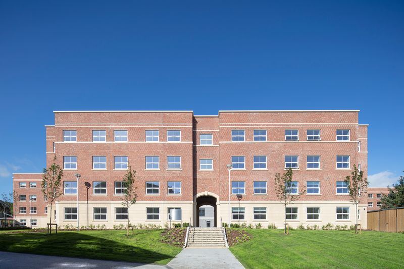 John Snow College building view from the front