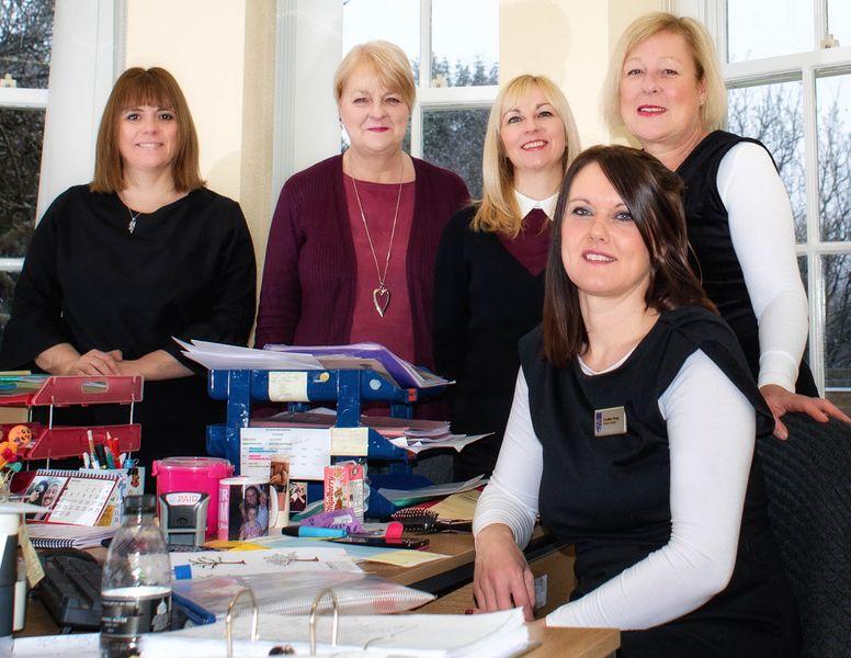 Finance team from St John's College