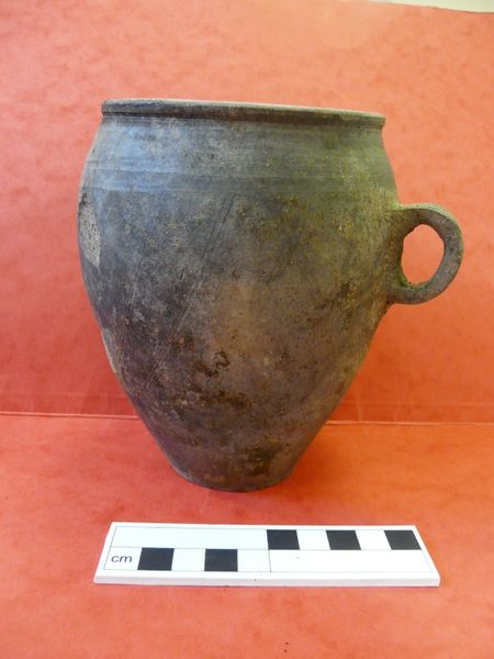 Cup found during the Binchester fieldwork trip