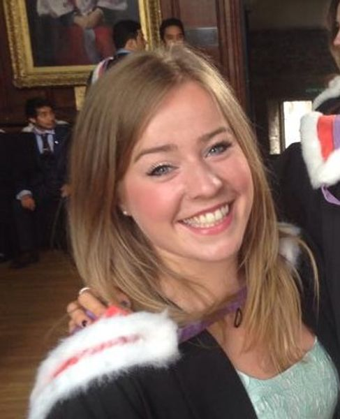 Geography Alumn Hannah Bedding
