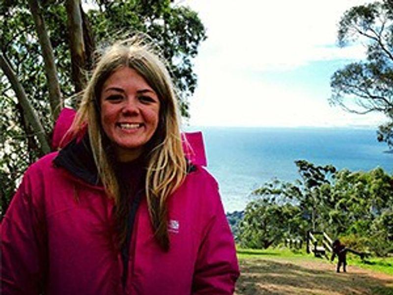 Geography Alum Hannah Rigby