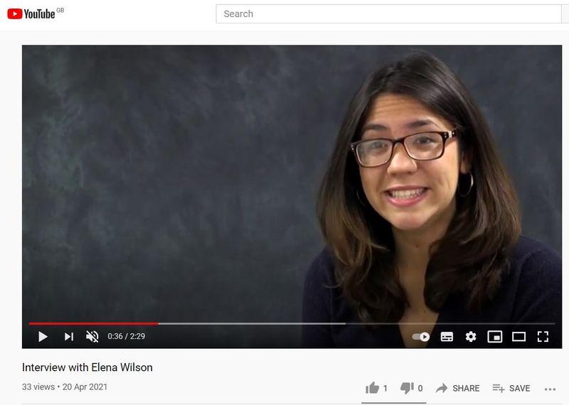Geog Alumni Elena Wilson