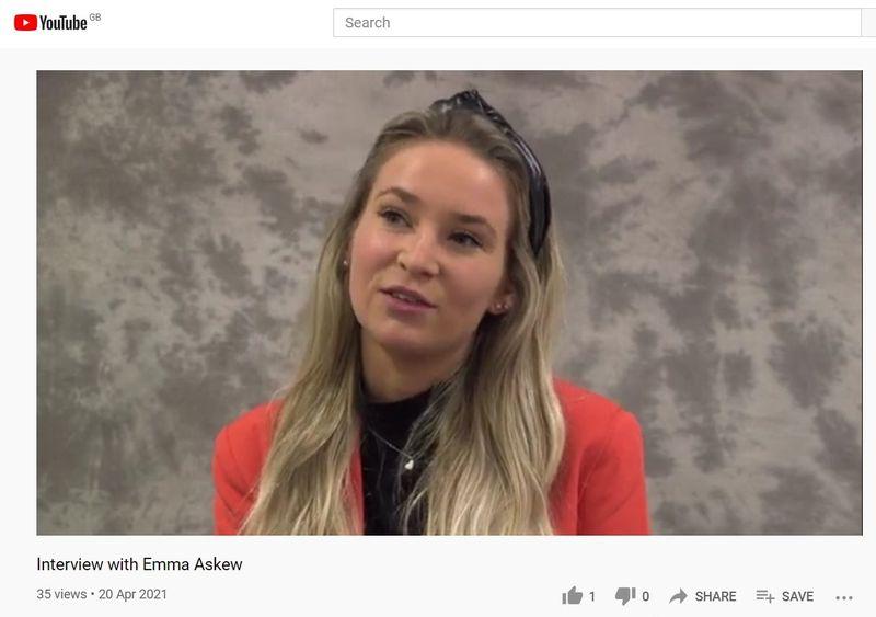 Geog Alumni Emma Askew