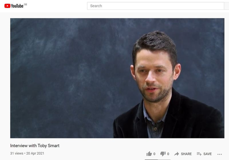Interview Image Toby Smart