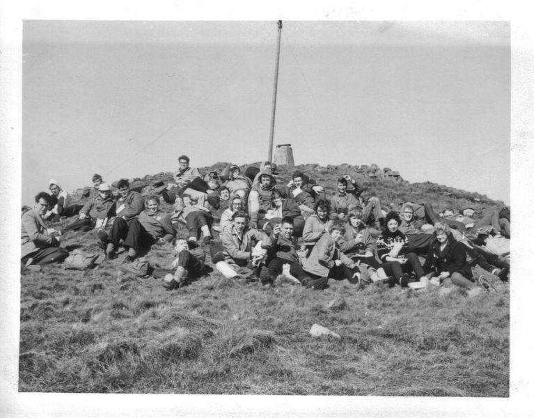 Field trip to Ballycastle 1963 image courtesy of Robin Morgan