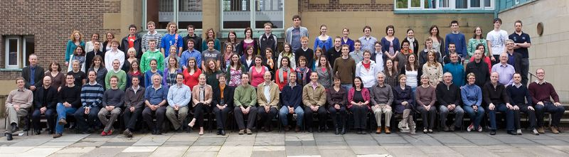Geography Department Undergraduate Group photo from 2010