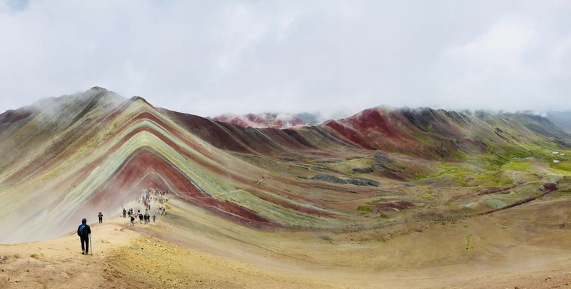 Peru billot nic rainbow mountain vinicunca cusco