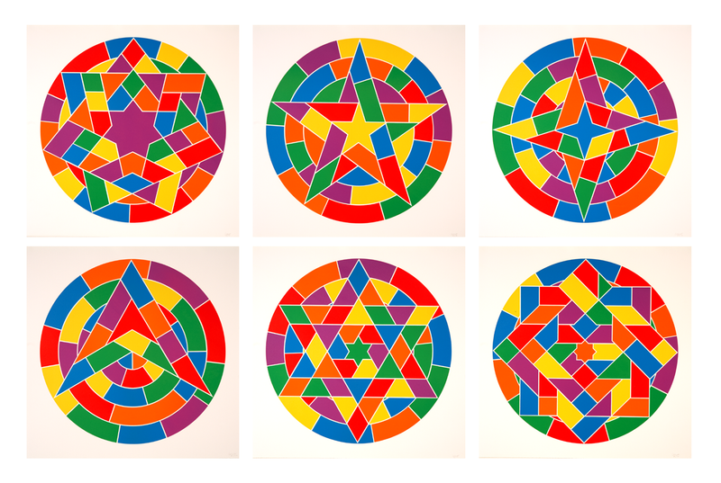 An image of multi coloured circles by Tondo Stars