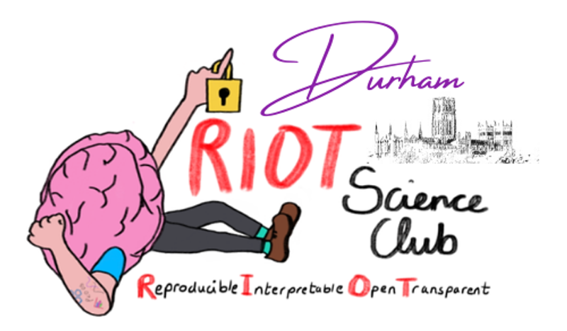 RIOT Science Club Durham logo