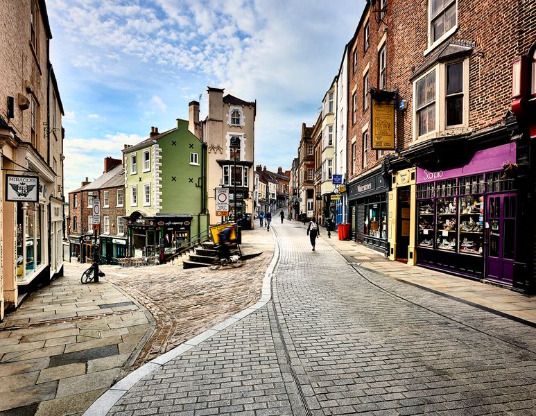 Saddler Street in Durham City Centre