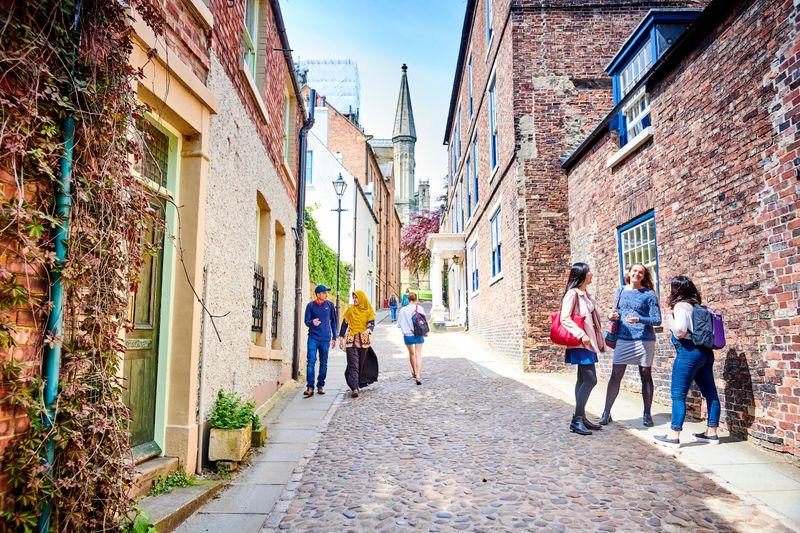Bow Lane in Durham City