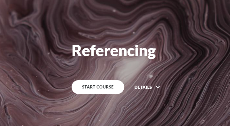 The Referencing tutorial