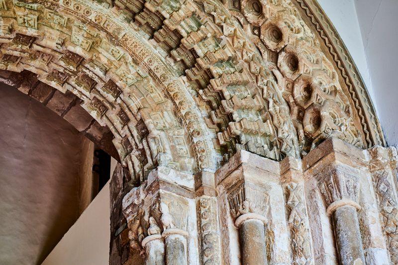 Ceiling alcove in Durham Castle
