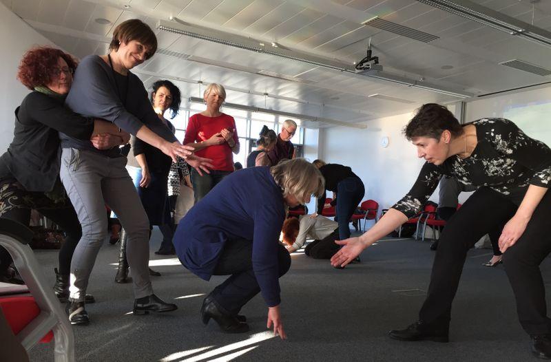 Participatory theatre workshop