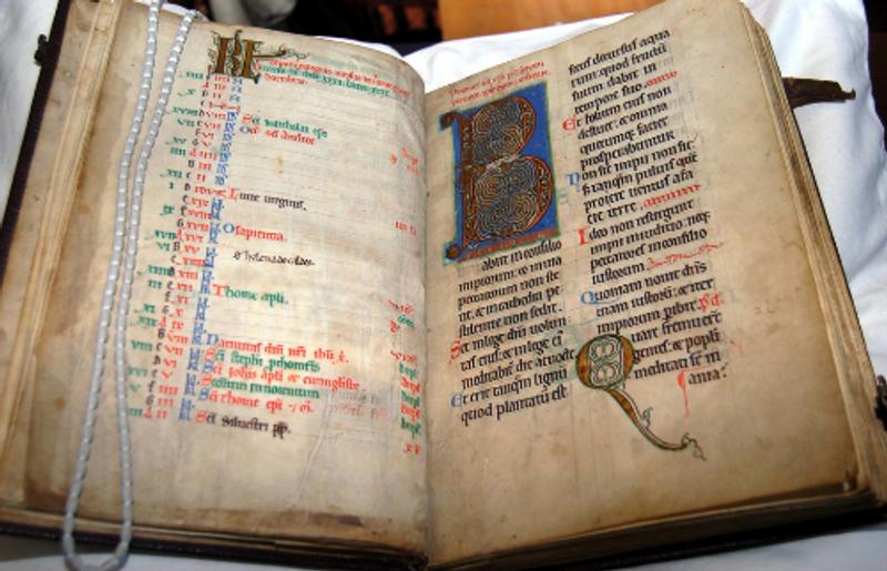 A medieval manuscript