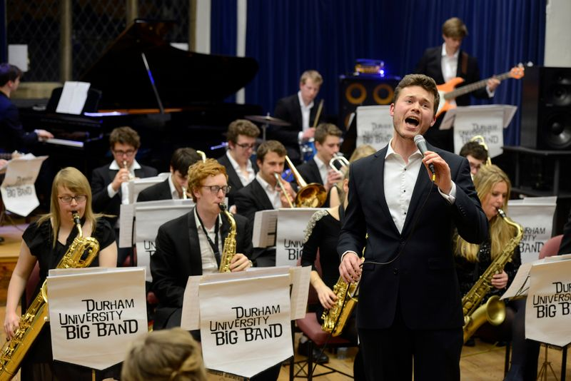 Durham University Big Band opening Manchester Jazz Festival