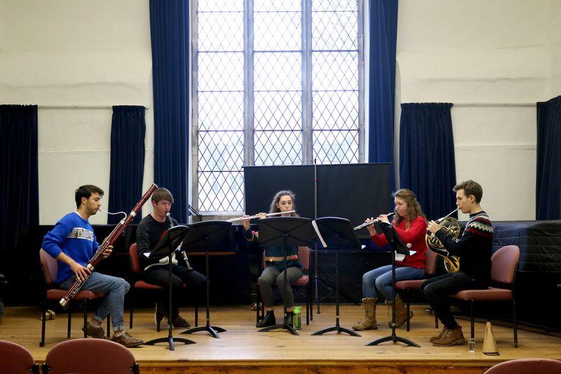 Divinity Quintet lunchtime concert performance