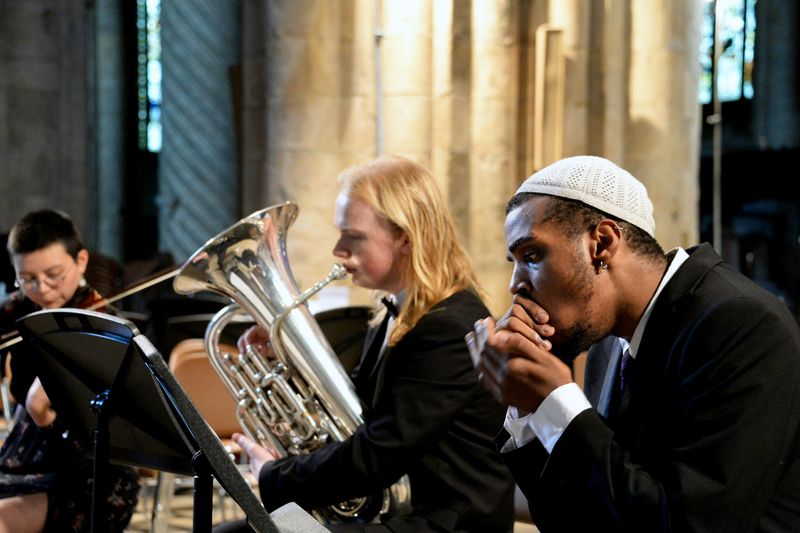 NAME perform in the Cathedral Summer Concert: Beyond the Realms
