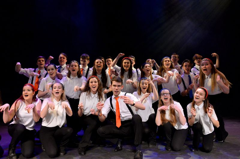 Fullscore perform with Northern Lights in the Gala Theatre