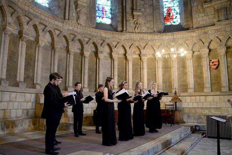 Dunelm Consort Epiphany 2019 Concert in Durham Cathedral Chapter House