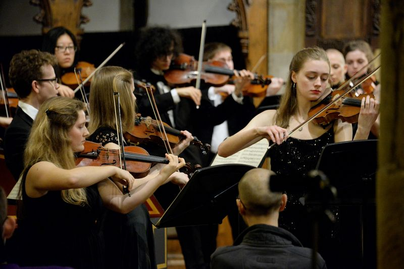 Classical Ensemble performing for the Epiphany Concert
